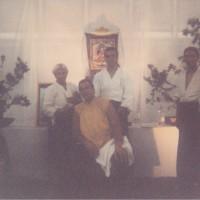 Den et Romaric avec Steven Seagal (Paris 1999)
