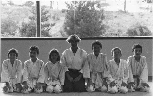 1er cours à Ramatuelle en 1990
