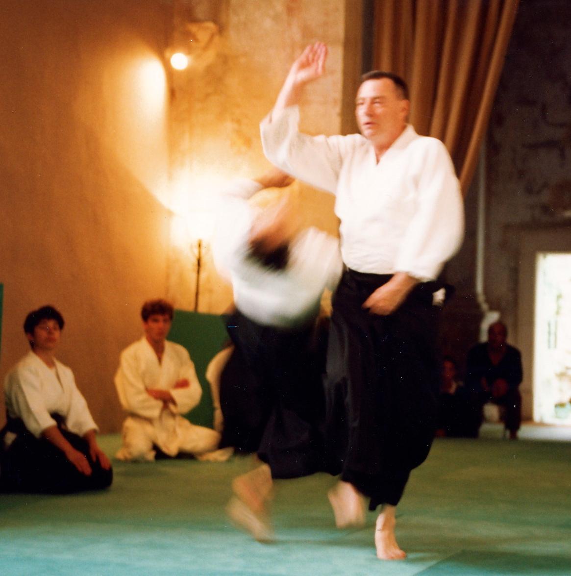 En séminaire de 4 jours à l'Abbaye (1994)