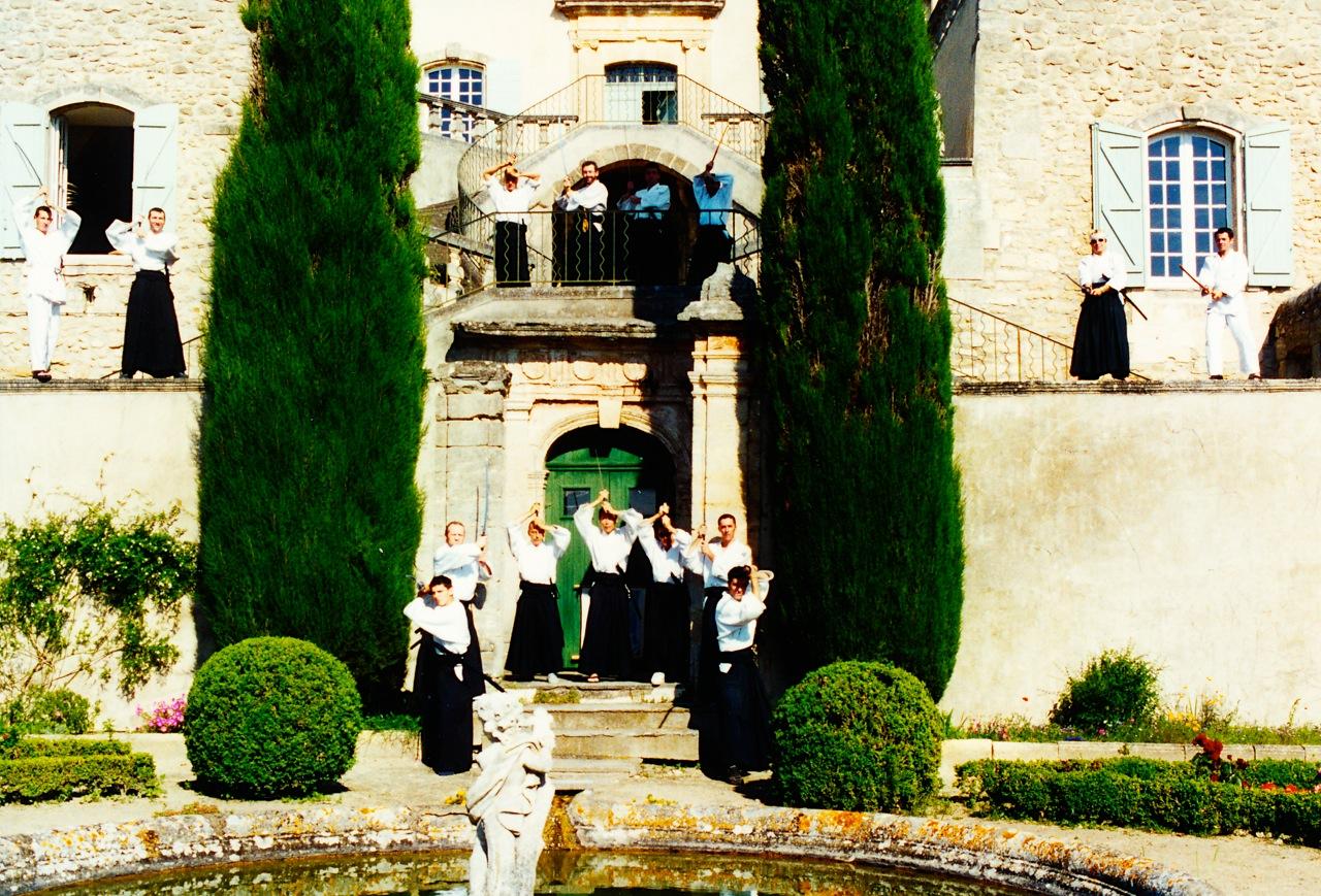 Séminaire à l'Abbaye en 2001