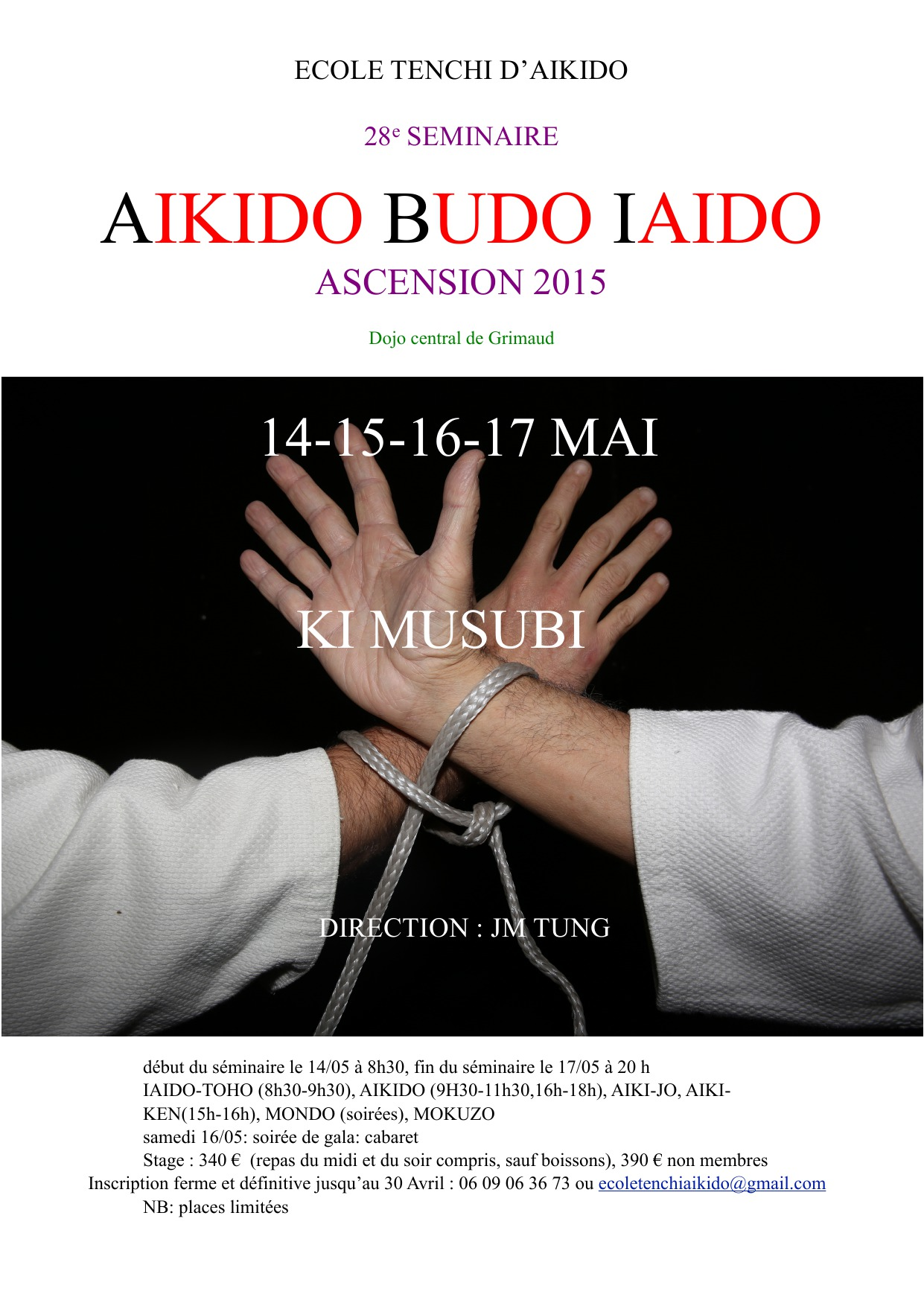 Affiche séminaire 2015