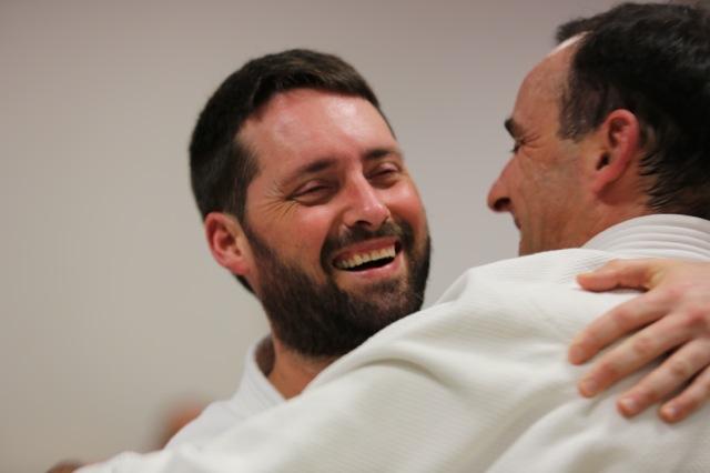 Jon et Denis. Qui est le plus heureux? (photo Den)