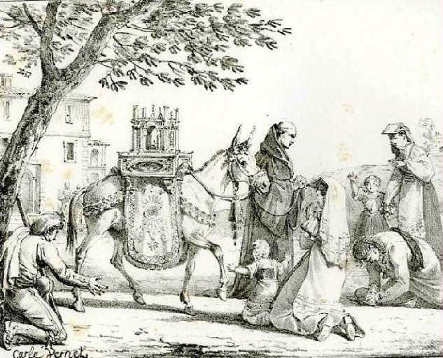 L'âne aux reliques