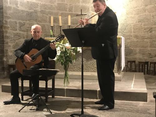De gauche à droite, Pascal Polidori, Philippe Depetris (photo Den)