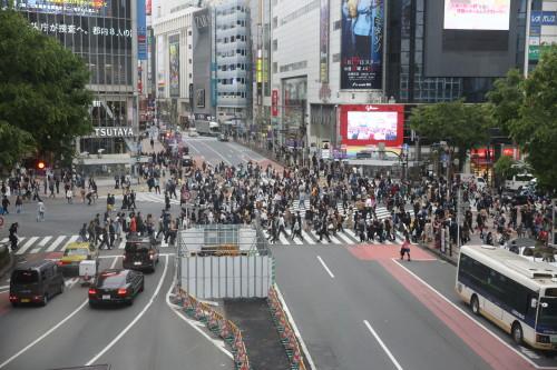 Tokyo: carrefour de Shibuya (photo JMT)