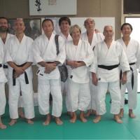 La Marsange (Novembre 2010), Jean Greslé (1er à gauche, Roger Tran Dinh Nhuan, 3e à gauche, Serge Hong, 2e à droite)